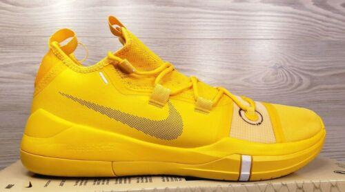 Nike Kobe AD TB Promo Exodus Lakers Yellow Amarillo Basketball AT3874-700 Sz 11