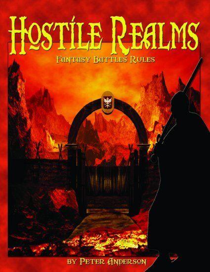 HOSTILE REALMS - FANTASY BATTLES RULES  - WARGAMES RULES -