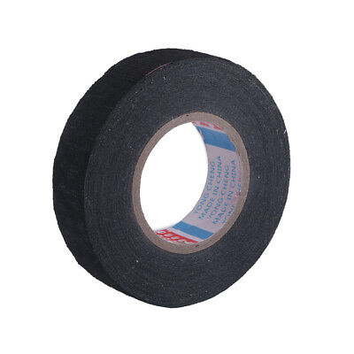 19mmx 15M Adhesive Cloth Fabric Tape Cable Looms Wiring Harness For Car AutoXSYL