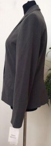 grigio 8 Msrp Wmns Sz in con colore di 72 antipioggia Bandolino seta 757010338622 Nwt mischia in Blazer Blazer misto trattamento aq8CTwfxF