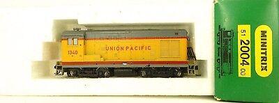 Romantico Minitrix 2004 Union Pacific 1340 Trix Locomotiva Diesel N 1:160 Conf. Orig. Å