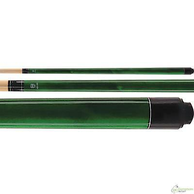 MCDERMOTT LUCKY L3 GREEN Two-piece Billiard Pool Cue Stick /& FREE 1x1 Soft Case