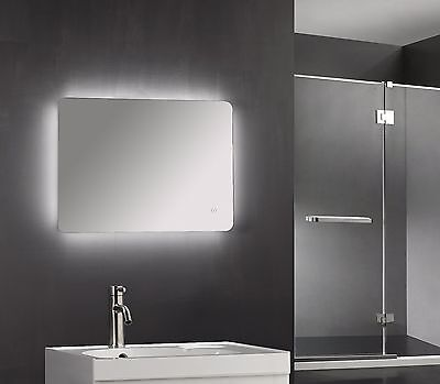 600 X 800mm Backlit Led Illuminated Touch Bathroom Mirror