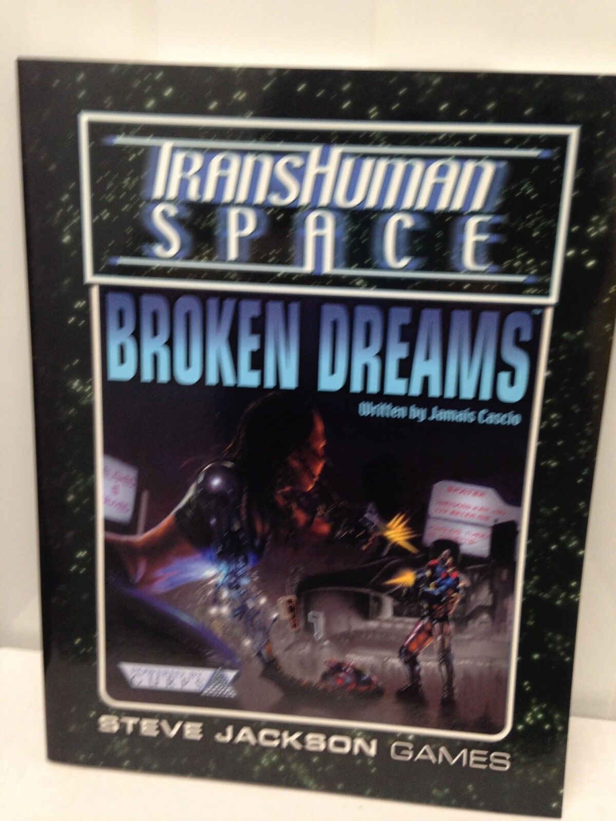 GURPS - Transhuman Space Broken Dreams- New