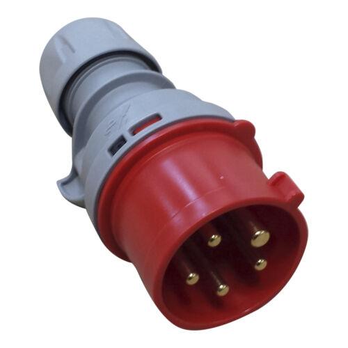 PCE CEE Stecker Kupplung 16A 32A 63A 1phasig 3phasig Phasenwender Drehstrom