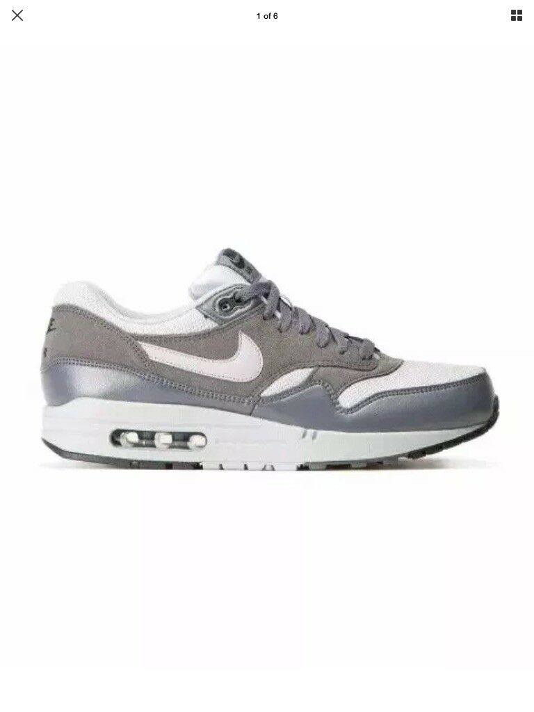Nike Air Max 1 Essential  Sz. 8.5.. 537383-019 Wolf  Essential Gris  Dark  Gris  homme c7edc3