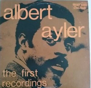 1973-JAZZ-ALBERT-AYLER-THE-FIRST-RECORDINGS-LP-RE-USA-GNP-9022-EX