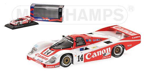Porsche 956  14 Le Mans 1985 1 43 Minichamps 430856514 Modellino