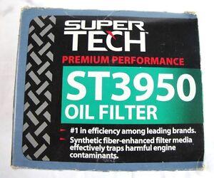Super Tech: Premium Performance ST3950 Oil Filter  (I1)
