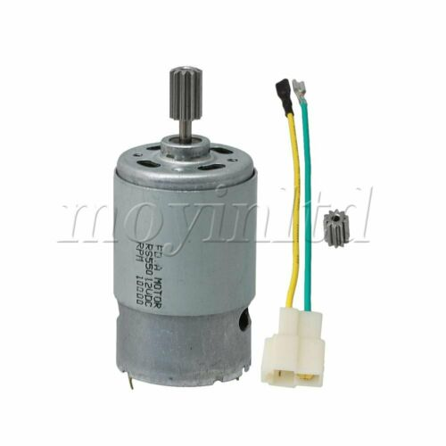 10000 RPM 550 12V DC Electric Motor High Performance for Children Car Gearbox