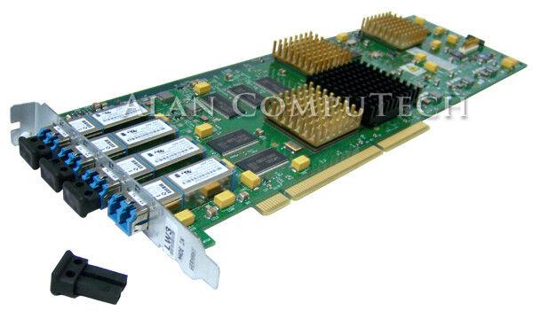 IBM 22R0464 Quad 2GBit PCI-x 3.0 Longwave Card 18P3456 22R0463 Fibre Channel 4-P