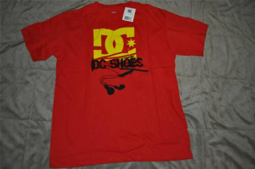 DC Shoes Co Grapgic Tee Boys T-Shirt Red//Yellow//Black Choose Size NWT