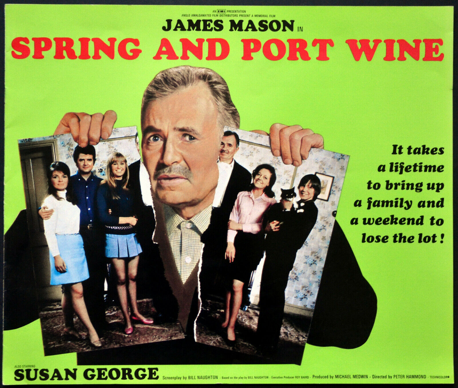 Film Review – SPRING AND PORT WINE (1970) – STEVE ALDOUS