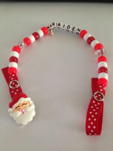 Padre Navidad-Hecho a Mano Clips de maniquí Personalizados-Navidad cualquier nombre
