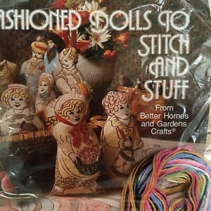 Old-Fashioned-Cloth-DOLLS-to-Stitch-KIT-Better-Homes-and-Gardens-1970s
