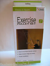 DMI Over The Door Fitness Weight Loss Athletic Workout Exercise Pulley Set  NEW