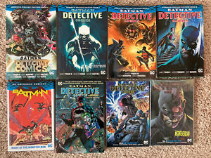 Batman Detective Comics Graphic Novel Lot Deluxe HC TPB Omnibus vol 1 2 3 4 5-9