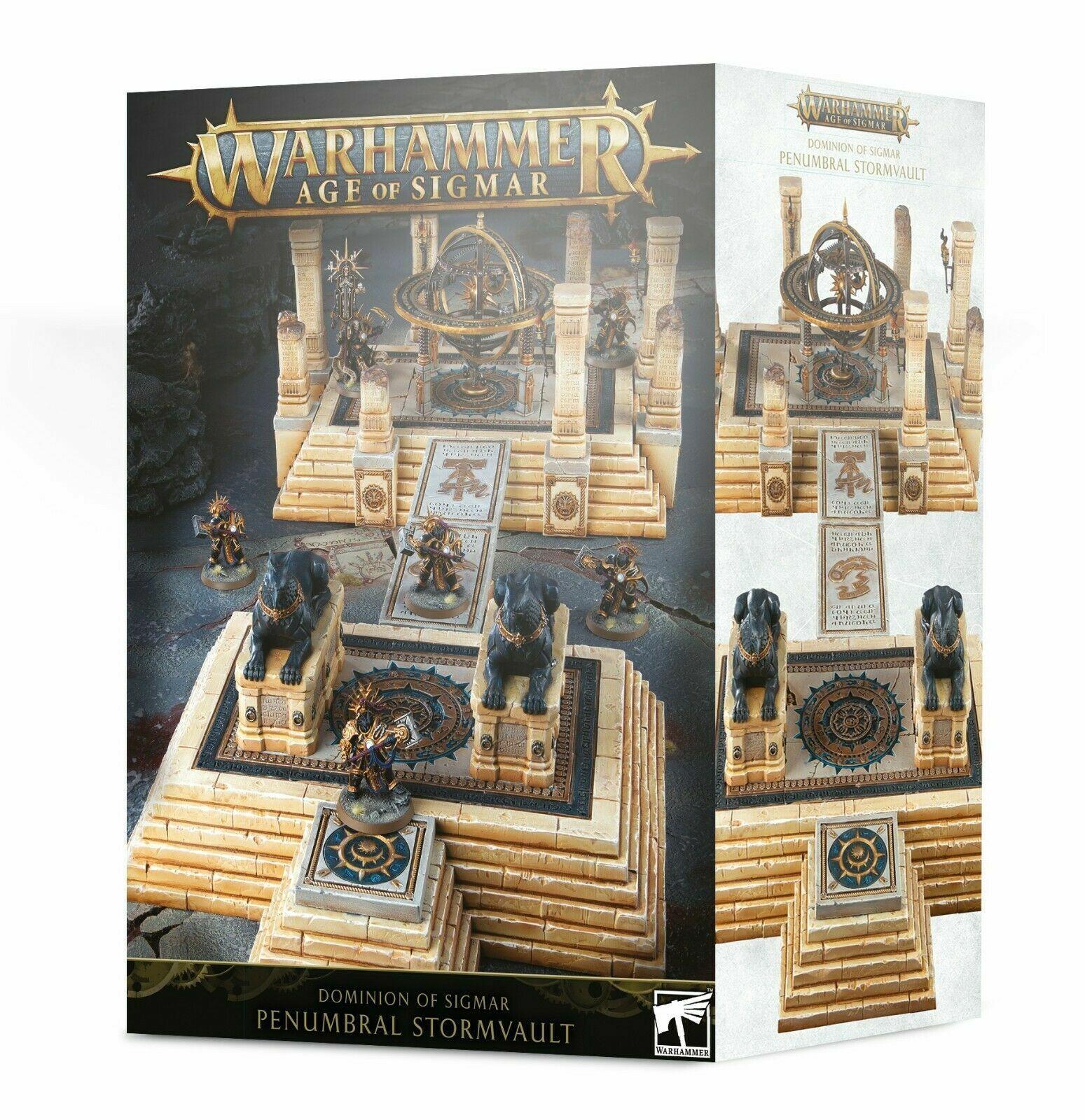 Dominion of Sigmar Penumbral Stormvault Terrain Warhammer AoS Games Workshop