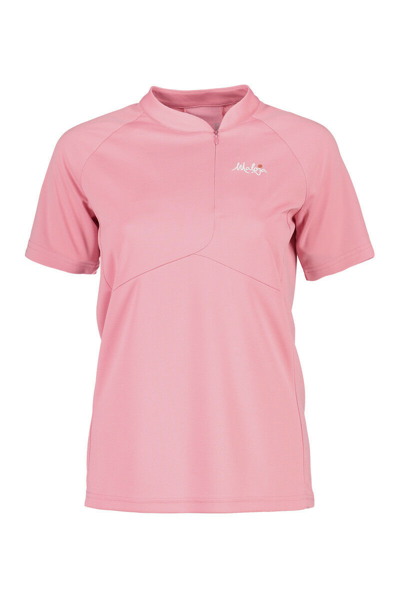 Maloja Dress Shirt Shirt Nuottam.allmountain 1 2 Pink Elastic