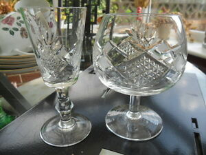 RETROVINTAGE 12 CUT GLASS DRINKING GLASSES  6 BRANDY amp 6 SHERRYLIQUOR GLASSES - <span itemprop=availableAtOrFrom>West Bromwich, West Midlands, United Kingdom</span> - RETROVINTAGE 12 CUT GLASS DRINKING GLASSES  6 BRANDY amp 6 SHERRYLIQUOR GLASSES - West Bromwich, West Midlands, United Kingdom