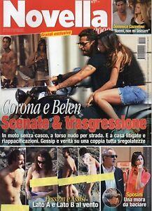 Novella 2009 25.FABRIZIO CORONA & BELEN,CRISTIANO RONALDO,GABRIELLA PESSION    eBay