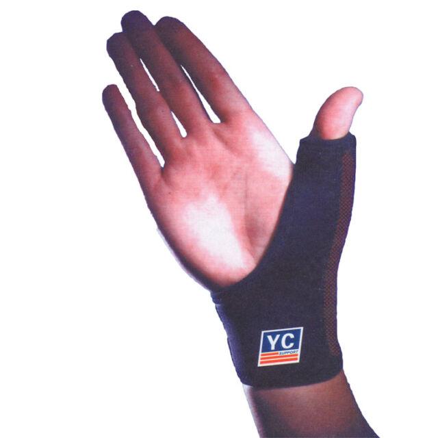 Neoprene Thumb Wrist Adjustable Support Hand Bandage Brace Arthritis Sprain  UK