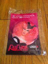 RUPAUL Ru Paul Drag Race Queen LGBT Community Logo TV Promo Button Team Adore