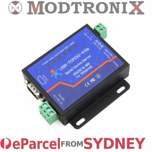 eParcel from Sydney USR-TCP232-410S RS232//RS485 Serial to Ethernet Converter