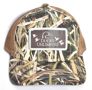 Ducks Unlimited Du Leader 2019 Camo Mesh Hat Cap Adjustable Mossy Oak New Ebay