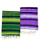thumbnail 1 - Mexican-Striped-Saltillo-Serape-2-Color-Blanket-fiesta-hot-rod-seat-cover-64x84