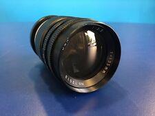 D&N 135mm f3.5 Prime Lens T2 / M42 12 Blade Bokeh Pre-Set Lens
