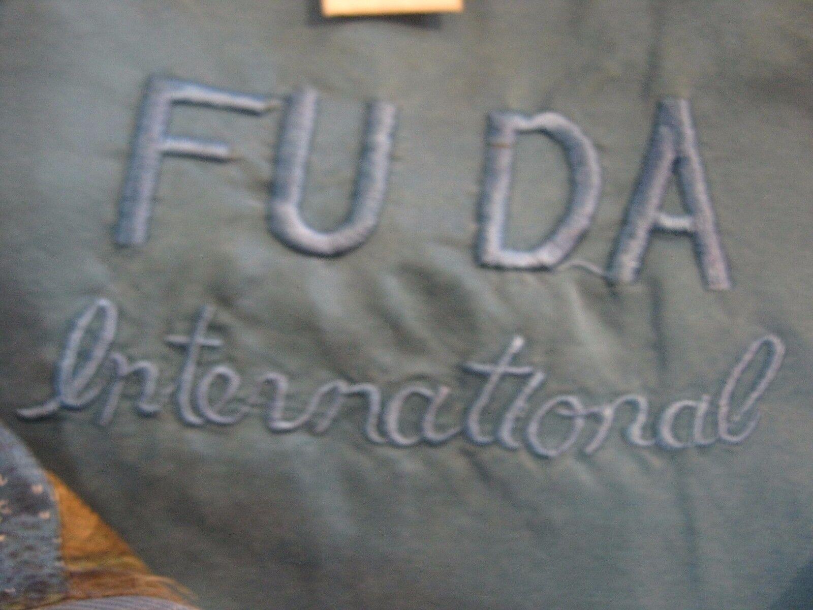 90's FUDA International Silk Bomber Jacket Size S… - image 5