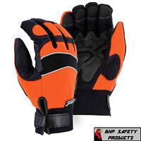 Majestic 2145hoh Heatlok Lined Waterproof Windproof Armorskin Gloves Size Medium