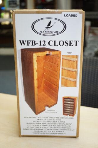 30/% DEAL Fly Furniture Wapsi USA WFB-12 CLOSET Holzturm mit 7 Kunststoffboxen