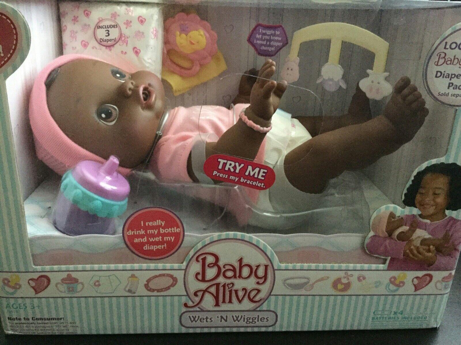 Nuevo bebé vivo siempre moja n Wiggles étnico African American Girl Doll Original De 2006