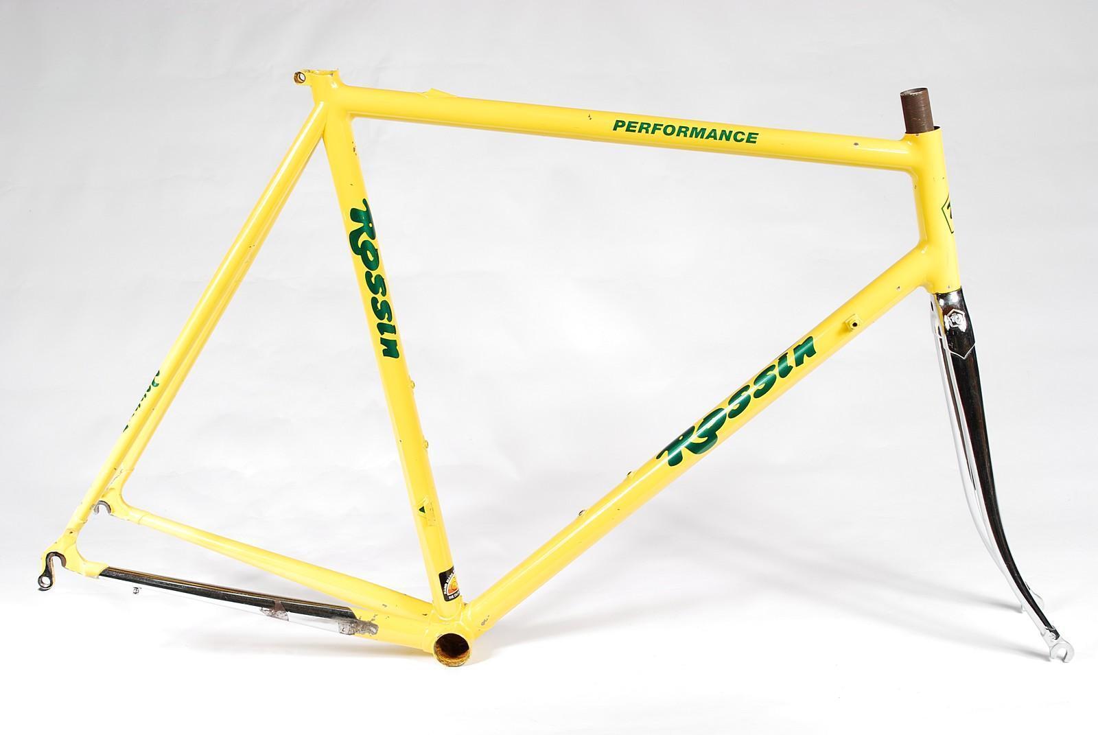 Rossin Performance Bicycle Frameset 58cm Columbus Classic Road Bike