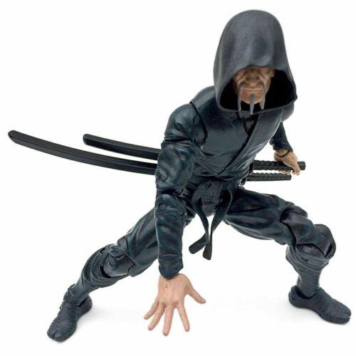 Fwoosh articulé icônes féodal série Deluxe Ninja Noir