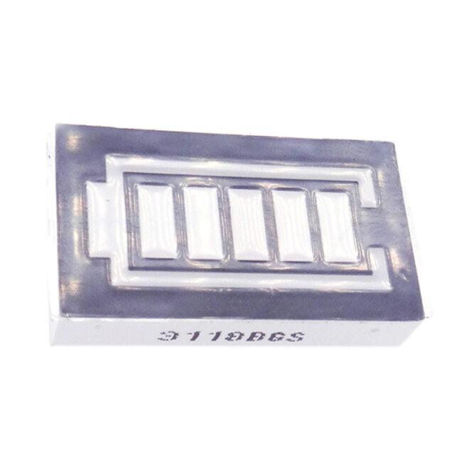 2pcs Lithium Capacity Indicator Module Blue Display Electric Vehicle KK