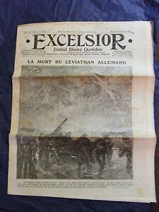 Journal-Excelsior-23-febrero-1916-Muerto-del-Leviatan-Alemana-Guerra-1914-1918