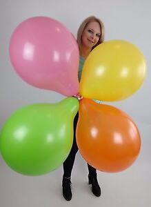 10-x-grosse-BSA-17-034-Luftballons-in-gemischten-Pastellfarben-Pastel-Colors