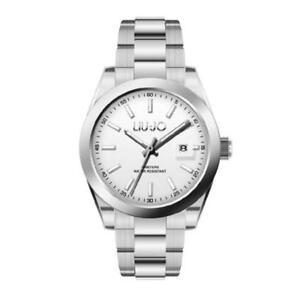 Orologio-Uomo-LIU-JO-Luxury-TLJ1187-Bracciale-Acciaio-Silver-Classico-Sub-50mt
