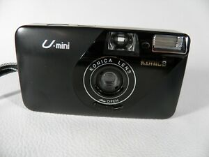 POINT-amp-SHOOT-FILM-CAMERA-KONICA-U-MINI-AF-IS-WORKS-TESTED-WITH-FILM-NICE-CAMERA