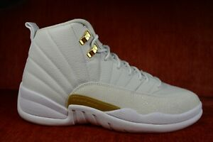 release date sells top brands WORN ONCE Nike AIR JORDAN 12 RETRO OVO WHITE METALLIC GOLD WHITE ...