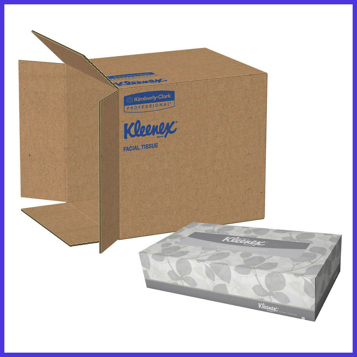 [No Tax]  Kleenex Facial Tissues 2-ply, White, 36-count