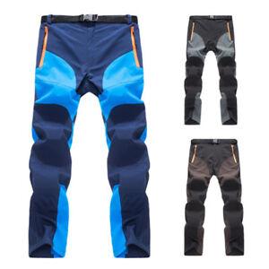 MILITARE-UOMO-Soft-Shell-Tactical-Pantaloni-cargo-TEENAGER-LUNGO-Outdoor-VIAGGIO
