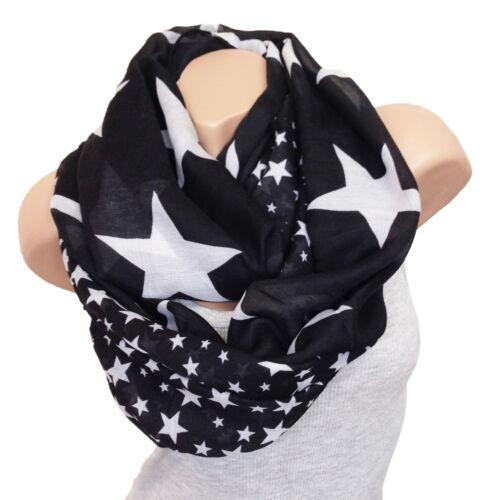 Loop Design écharpe star étoile usa motif tube écharpe tube tendance avec sélection