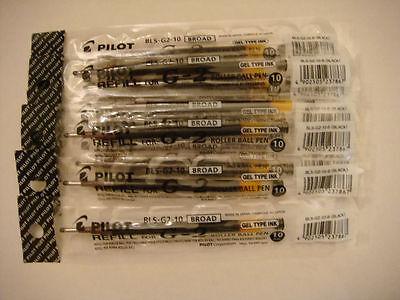 2 // Paquete Fine Point ITOYA AquaRoller pluma de gel de recarga 0.7mm Negro Para Gel Pen