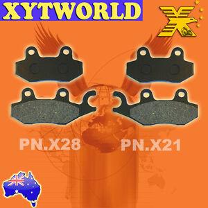 FRONT-Brake-Pads-for-KAWASAKI-KLF-300-Bayou-1989-2000-2001-2002-2003-2004-2005