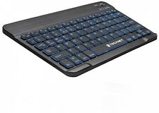TeckNet Backlit Bluetooth Illuminated Ultra-Slim (7mm) Wireless Keyboard with 2