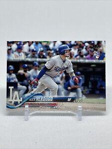 Alex Verdugo 2018 Topps Series 1 Rookie Card # 281 LA Dodgers RC Boston Red Sox